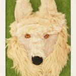 ホッキョクオオカミ(壁掛け)