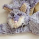 ファンタジー紫キツネ